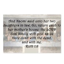 Ruth 1:8 Postcards (Package of 8)