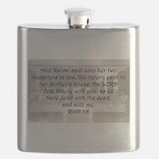 Ruth 1:8 Flask