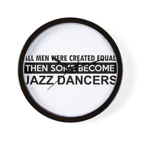 Jazz Dance designs Wall Clock