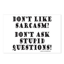 DON'T LIKE SARCASM? Postcards (Package of 8)