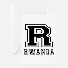 Rwanda Designs Greeting Card