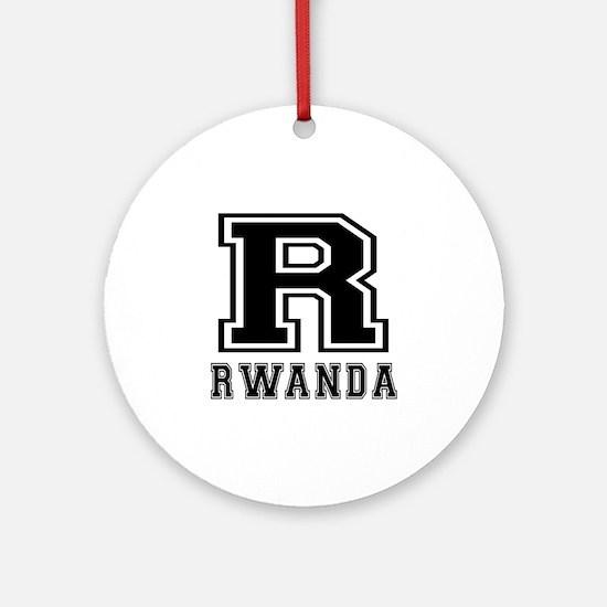 Rwanda Designs Ornament (Round)