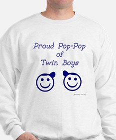 Proud Pop-Pop of Twin Boys Jumper