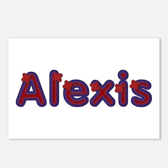 Alexis Red Caps Postcards 8 Pack