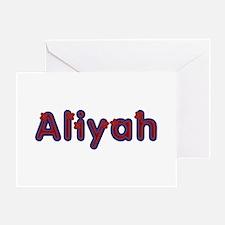 Aliyah Red Caps Greeting Card