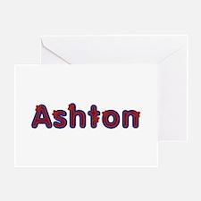 Ashton Red Caps Greeting Card