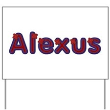 Alexus Red Caps Yard Sign
