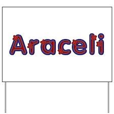 Araceli Red Caps Yard Sign