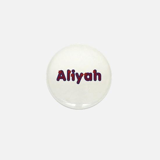 Aliyah Red Caps Mini Button