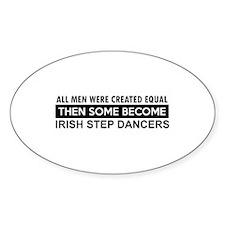 Irish step Dance designs Decal