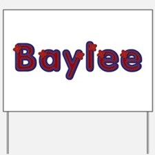 Baylee Red Caps Yard Sign