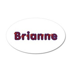 Brianne Red Caps Wall Decal
