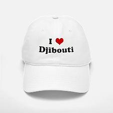 I Love Djibouti Baseball Baseball Cap