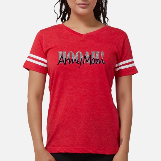 Army Mom Womens Football Shirt
