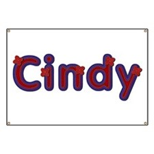 Cindy Red Caps Banner