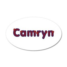 Camryn Red Caps Wall Decal