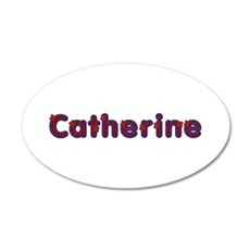 Catherine Red Caps Wall Decal