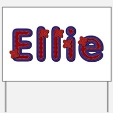 Ellie Red Caps Yard Sign