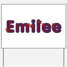 Emilee Red Caps Yard Sign