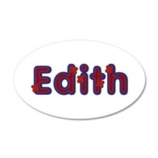 Edith Red Caps Wall Decal