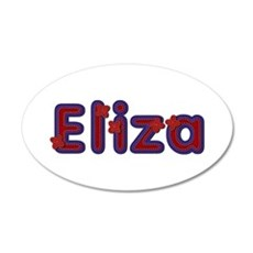 Eliza Red Caps Wall Decal