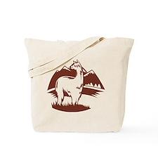LamaPanorama Tote Bag