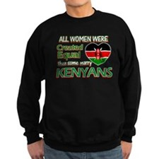 Kenyan husbands designs Sweatshirt