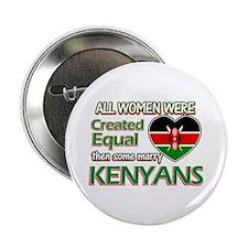 """Kenyan husbands designs 2.25"""" Button (10 pack)"""