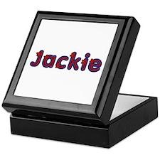 Jackie Red Caps Keepsake Box