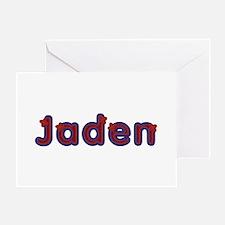 Jaden Red Caps Greeting Card