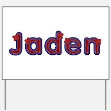 Jaden Red Caps Yard Sign