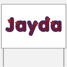 Jayda Red Caps Yard Sign