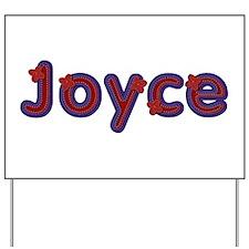 Joyce Red Caps Yard Sign