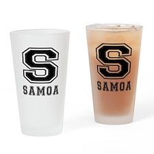 Samoa Designs Drinking Glass