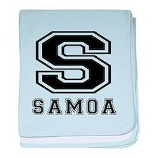 Samoa Designs baby blanket