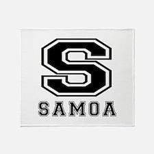 Samoa Designs Throw Blanket