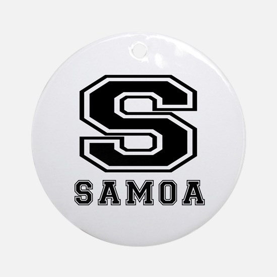Samoa Designs Ornament (Round)