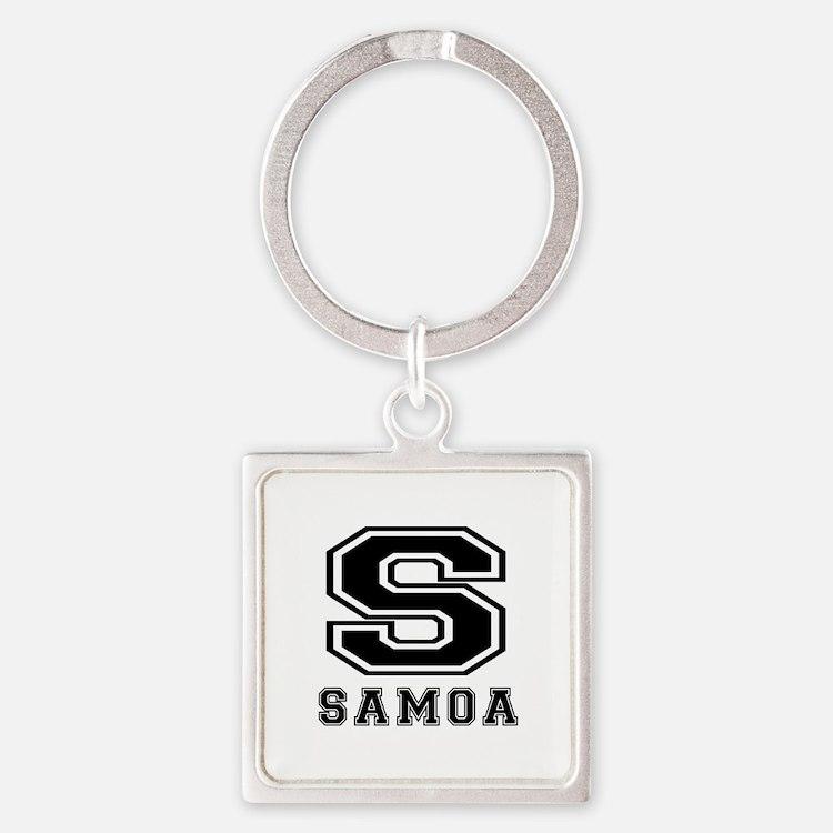 Samoa Designs Square Keychain