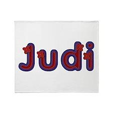 Judi Red Caps Throw Blanket