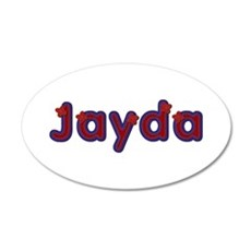 Jayda Red Caps Wall Decal