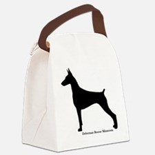 Doberman Rescue Canvas Lunch Bag