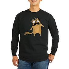 Hipster Cat Long Sleeve T-Shirt