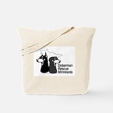 Doberman rescue of MN Tote Bag
