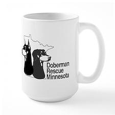 Doberman rescue of MN Mug
