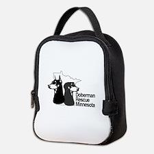 Doberman rescue of MN Neoprene Lunch Bag