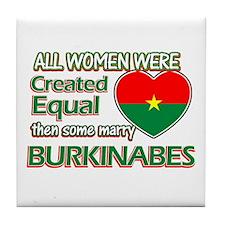 Burkinabes Husband designs Tile Coaster