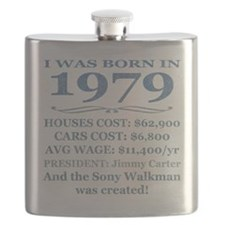 Birthday Facts-1979 Flask