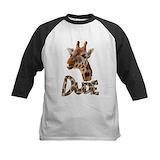 Giraffes Long Sleeve T Shirts
