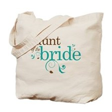 Lovely Aunt of the Bride Tote Bag
