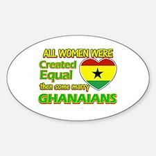 Ghanaians Husband designs Decal